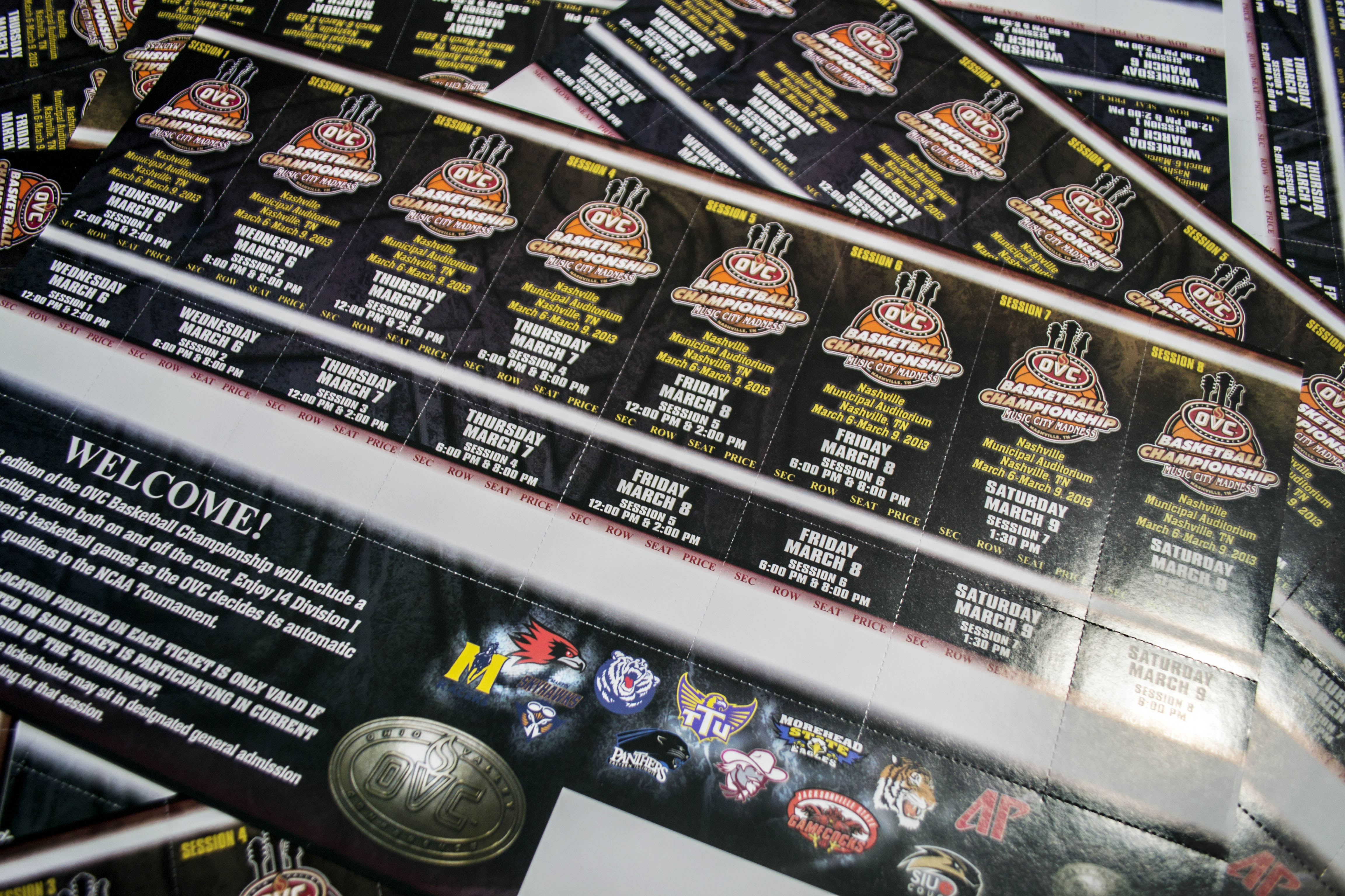 Ticketsheets